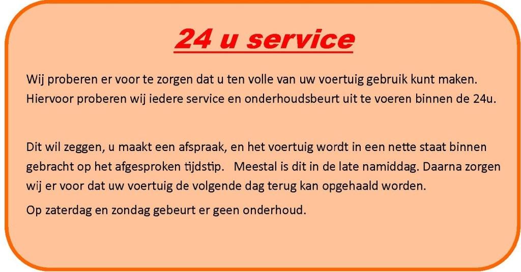 24 u service