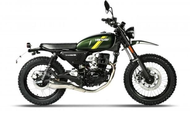 Hanway Scrambler 125cc Euro4 EFI